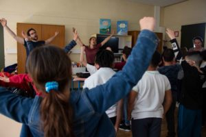 Chanter dans les écoles